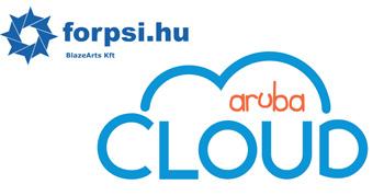 Aruba offre servizi Cloud basati su modello IaaS, tramite il marchio Aruba Cloud. Questi servizi di Cloud Computing e Cloud Object Storage sono sostenuti da una rete di Data Center di proprietà e partner, compreso quello più recente di Arezzo, uno dei pochi Data Center Tier IV in Italia, aperto nel 2012.