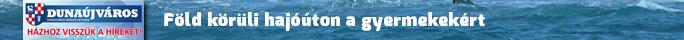 Dunaújváros hetilap: Föld körüli hajóúton a gyermekekért