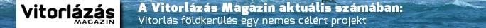Vitorlázás Magazin 2015 decemberében megjelent számában, Földkerülés egy nemes célért cikk.